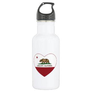 california flag lake city heart 532 ml water bottle