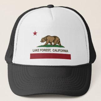 california flag lake forest trucker hat