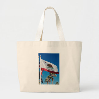 California Flag Large Tote Bag