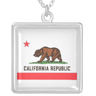 CALIFORNIA FLAG Necklace