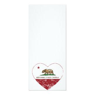 california flag north manhattan beach heart dis custom invitation