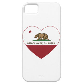 california flag oregon house heart iPhone 5/5S covers