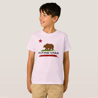 California Flag painted style T-Shirt