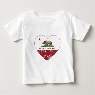 california flag palo alto heart distressed t shirt