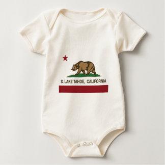 california flag S lake tahoe Baby Bodysuit