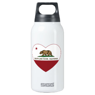 california flag south lake tahoe heart 0.3L insulated SIGG thermos water bottle
