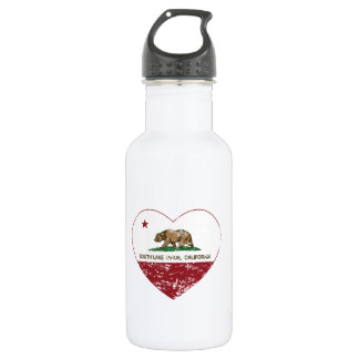 california flag south lake tahoe heart distressed 532 ml water bottle