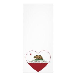 california flag south lake tahoe heart invite
