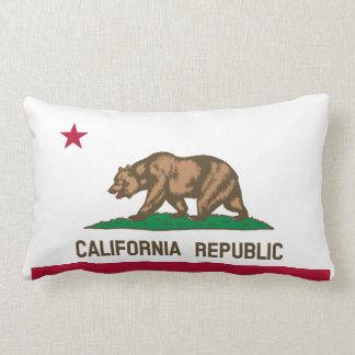 California Flag Throw Cushion