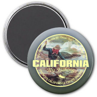 California Fly Fishing Magnet