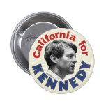 California for Kennedy button