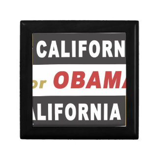 California for Obama Gift Boxes