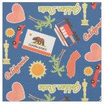 California Fun Pattern Fabric