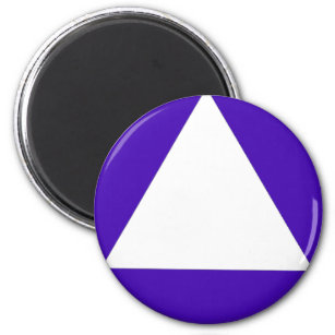 California Gender Neutral Bathroom triangle Magnet