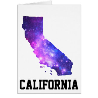 California Girl Galaxy Card