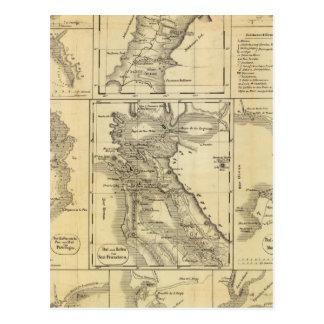 California Gold Rush Postcard