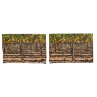 California Grapevines in the Fall Pillowcase