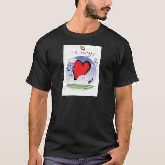 California head heart, tony fernandes T-Shirt