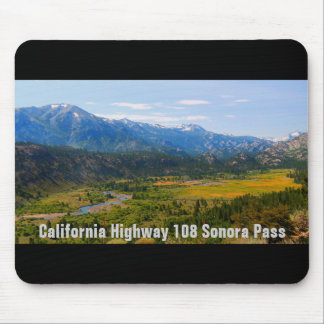 California Highway 108 Sonora Pass Mouse Pad