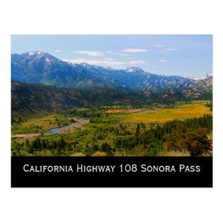 California Highway 108 Sonora Pass Postcard