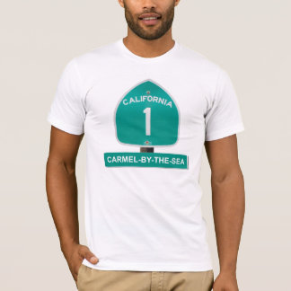 California Highway 1 Carmel By The Sea T-Shirt