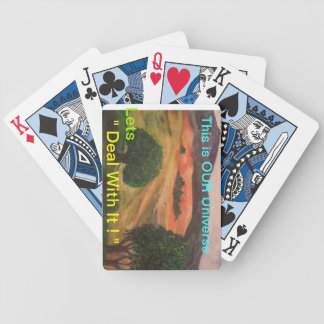 California Hillview Bicycle Playing Cards