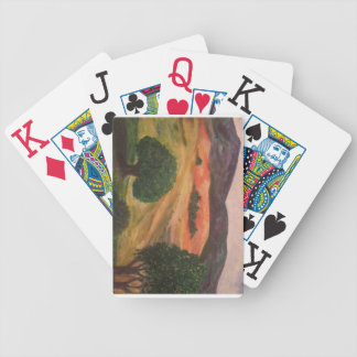 California Hillview Poker Deck