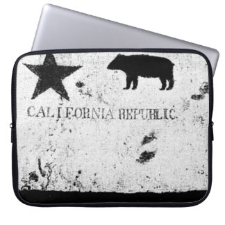 California Historic Bear Flag Laptop Sleeve