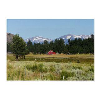 California HWY 395 Landscape Acrylic Wall Art