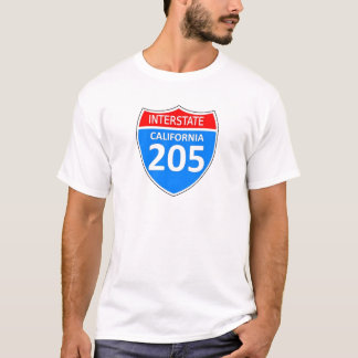 California Interstate 205 T-Shirt