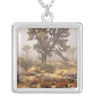 California: Joshua Tree National Monument, Square Pendant Necklace