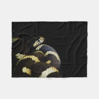 California King Snake Fleece Blanket