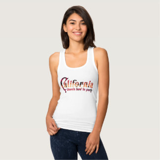 California Knows How to Party Singlet