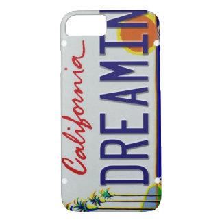 California License Plate iPhone 7 Case