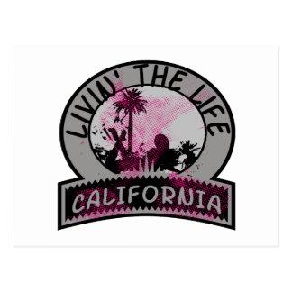 California Life Postcard