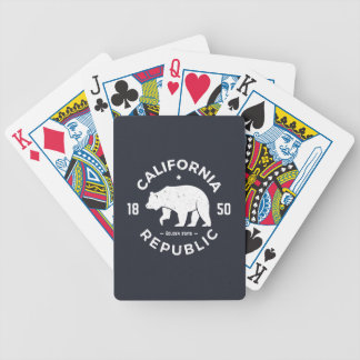 California Logo | The Golden State Bicycle Playing Cards