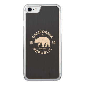 California Logo | The Golden State Carved iPhone 7 Case