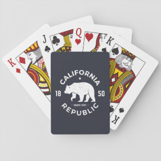 California Logo | The Golden State Playing Cards