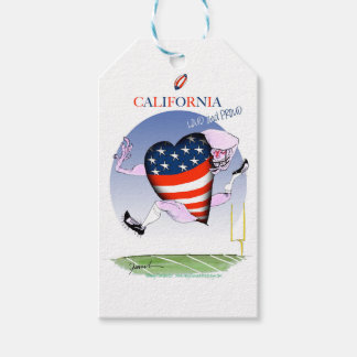 california loud and proud, tony fernandes gift tags