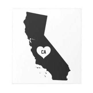 California Love Notepad
