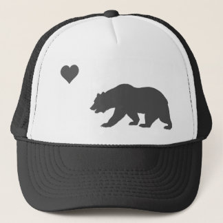 California Love Silver And Black Trucker Hat