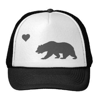 California Love Silver And Black Trucker Hat