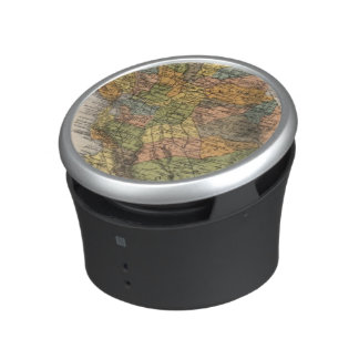 California Map showing townships and railroads Bluetooth Speaker