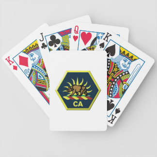 California Military Reserve Poker Deck