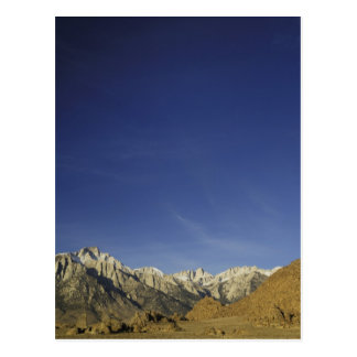 California, Mount Whitney, Inyo National Forest Postcard
