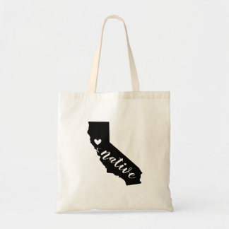 California Native State Tote Bag