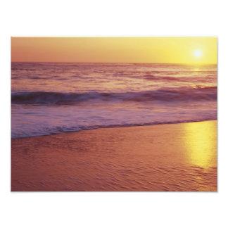 California, near Santa Cruz, View of beach at Art Photo