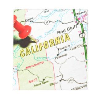 California Notepad