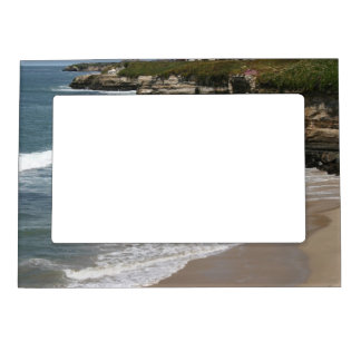 California Pacific Ocean Cliff Line Magnetic Frame
