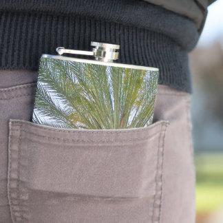 California Palm Tree Hip Flask